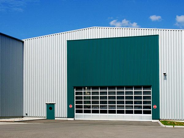 Puerta seccional industrial Zenox