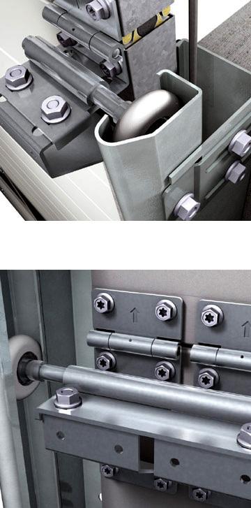 Puertas seccionales industriales Zenox