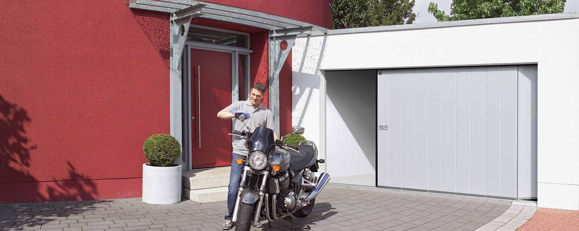Puerta seccional lateral Zenox